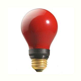 Dunkelkammerlampe ROT  (DR. Fischer) 240 Volt   15 Watt   E27   PF712E