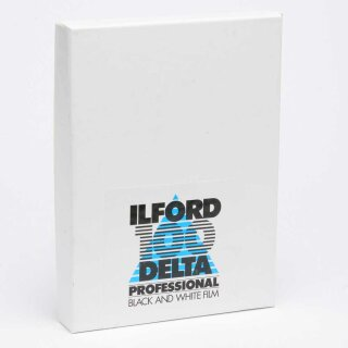 Ilford S/W Film DELTA 100, Planfilm 13x18 cm, 25 Blatt