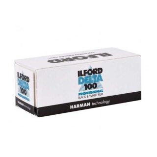 Ilford S/W Film DELTA 100, 120 Rollfilm  (MHD 01/2023)