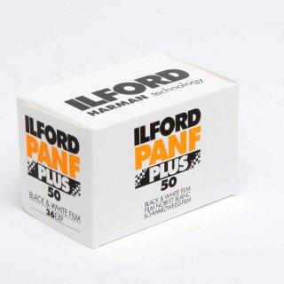 Ilford S/W Film PAN F Plus, 135/36 Kleinbildfilm  (MHD 08/2023)