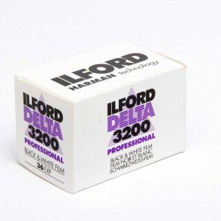 Ilford S/W Film DELTA 3200, 135/36 Kleinbildfilm