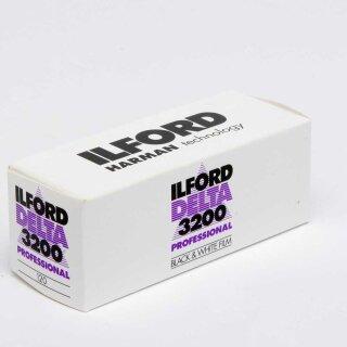 Ilford S/W Film DELTA 3200, 120 Rollfilm  MHD 03/2023
