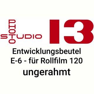 Dia Entwicklungsbeutel Studio 13 E-6 DIA 120er Rollfim ungerahmt