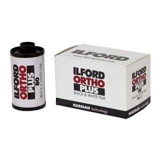 ILFORD Ortho Plus | 135-36 orthochromat. sensibilisierter S/W Film