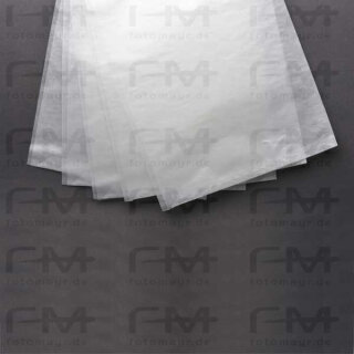 Pergamin Hülle 40x50 cm (520x408+10 mm) Breitseite offen, 100 Stück