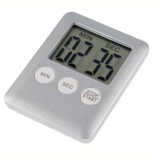 """Kurzzeitmesser """"digital"""" Countdown Timer + Stoppuhr, max. 99 Min."""