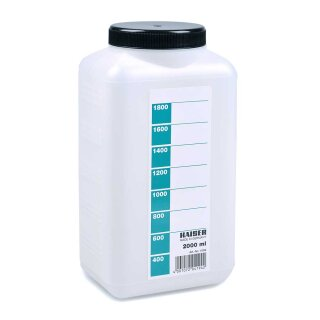 Laborflasche 2000 ml, weiß