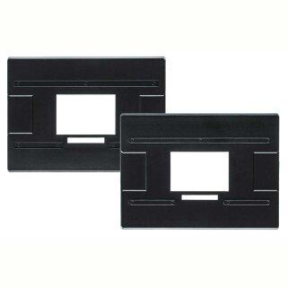 Kaiser Formatmasken 24,5 x 36,5 mm für Bilder mit schwarzem Rand, 1 Paar