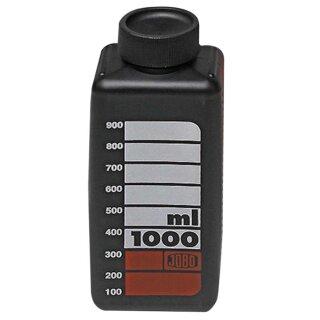 Jobo Flasche schwarz , 1000 ml