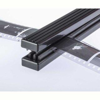 Filmabstreifer mit filmschonenden, dreifachen Gummilippen, 116 mm breit
