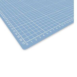 Schneidematte 600x450 mm, translucent durchscheinende Schneidunterlage