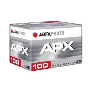 Agfaphoto S/W Film APX 100, 135/36 Kleinbildfilm  (MHD 07/2025)