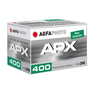 Agfaphoto S/W Film APX 400, 135/36 Kleinbildfim (MHD 1/2026)