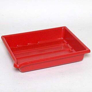 Laborschale 24 x 30 cm, rot