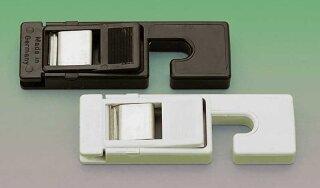 Filmklammer Kunststoff, 1 Paar 1x mit Gewicht, 1x ohne Gewicht