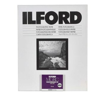 Ilford Fotopapier Multigrade RC DeLuxe 44M | pearl | 10,5x14,8 cm | 100 Blatt