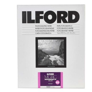 Ilford Fotopapier Multigrade RC DeLuxe 1M | glossy | 20,3x25,4 cm | 100 Blatt