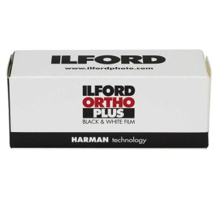 ILFORD Ortho Plus   120  MHD(09/2022) orthochromat. sensibilisierter S/W Film